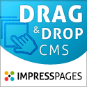 Drag & drop with ImpressPages CMS